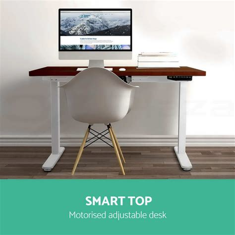 Electric Sit Stand Computer Desk by Height Adjustable Standing Desk Sit Stand Computer Desk