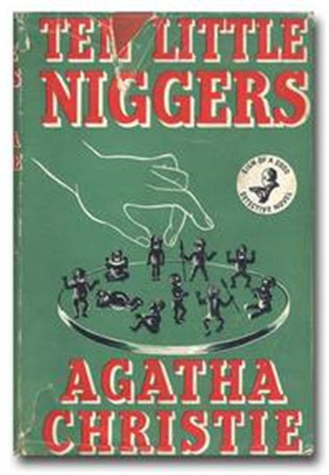 ten little niggers by agatha christie first edition