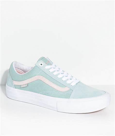 Lu Light by Vans Skool Pro Dan Lu Harbor Grey Pearl Skate Shoes