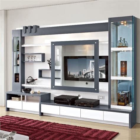 wall unit designs living room furniture wood lcd tv wall unit design buy