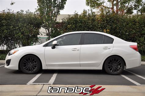 lowered subaru impreza tanabe usa r d blog tanabe springs on 2012 subaru