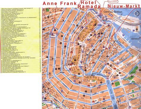 Cartes de Amsterdam   Cartes typographiques détaillées de Amsterdam (Pays Bas) de haute qualité