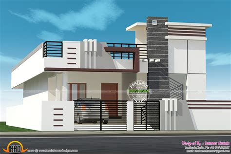 contemporary low cost 800 sqft 2 bhk tamil nadu style home design tamilnadu home design best home design ideas