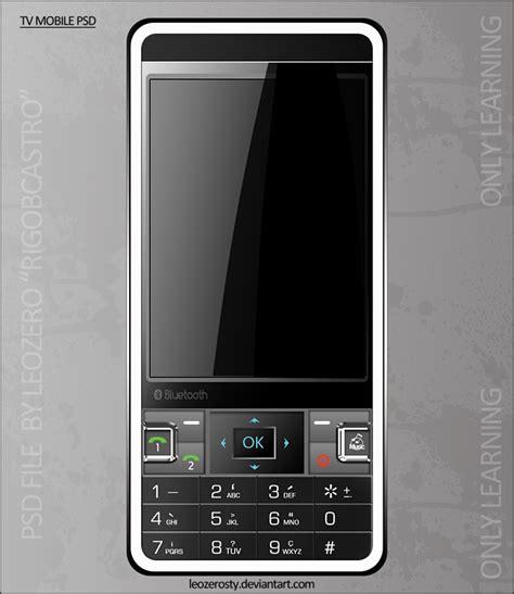 Tv Mobil 7 tv mobile psd by leozerosty on deviantart