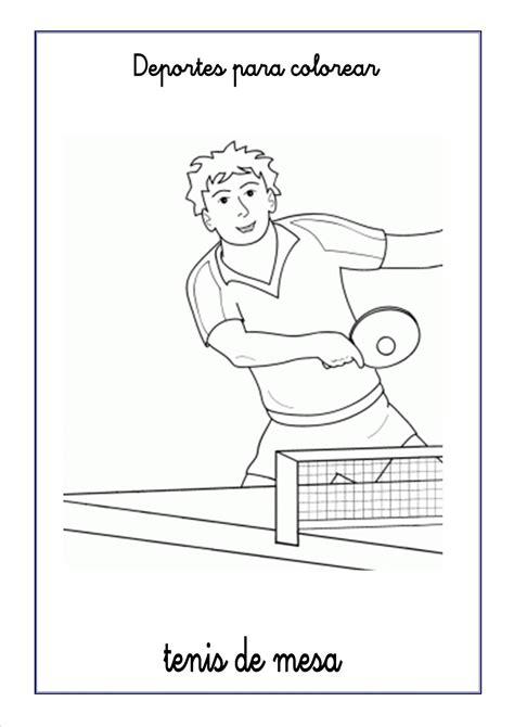 imagenes nuevas para el ping dibujos de deportes para colorear