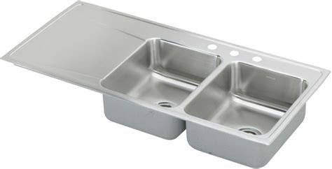 48 inch stainless steel sink elkay ilr4822r5 48 inch drop in bowl stainless