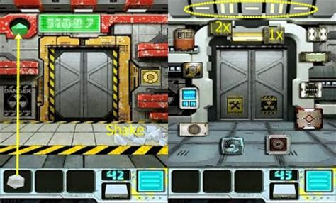 100 Floors 2013 Level 43 - best app walkthrough 100 doors aliens space level 41