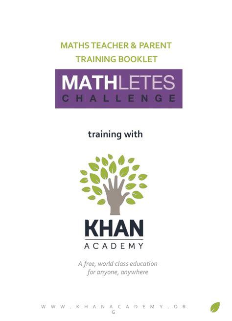 Parent Letter Khan Academy Cit Khan Academy Workshop Booklet Parent