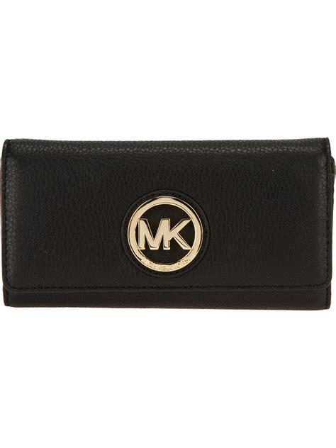 Michael Kors Fulton Wallet michael kors fulton wallet in black lyst