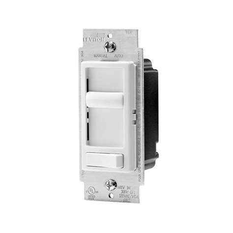 dimmer for l leviton decora decora sureslide universal dimmer with