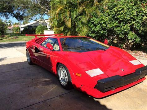 Lamborghini Parts For Sale by 1989 Lamborghini Countach Anniversa For Sale 2005493