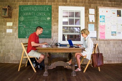 Chappaquiddick Community Center Stuck In Chappy Can T Connect The Vineyard Gazette Martha S Vineyard News