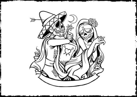 Day Of The Dead Free Coloring Pages Day Of The Dead Altar Coloring Pages