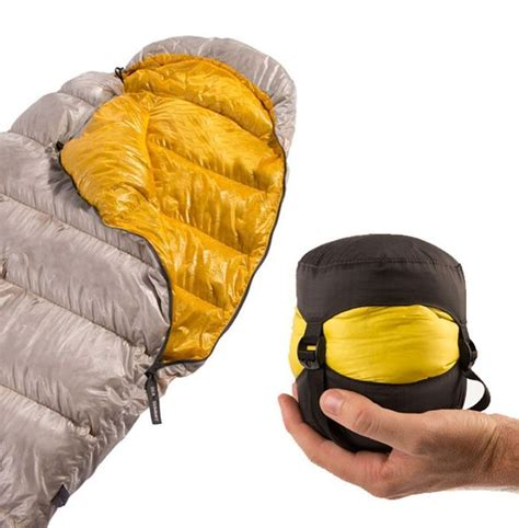 spark spi is a sleeping bag you hold in the palm of your ohgizmo technology