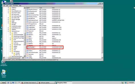 change terminal server change rdp on windows server interserver tips