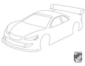 blank race car templates blank templates for designing on paper r c tech forums