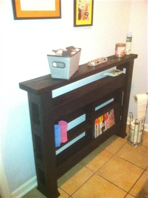 diy chic pallet console table  pallets