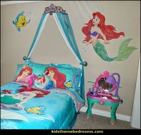 ariel bedroom decorating theme bedrooms maries manor little mermaid