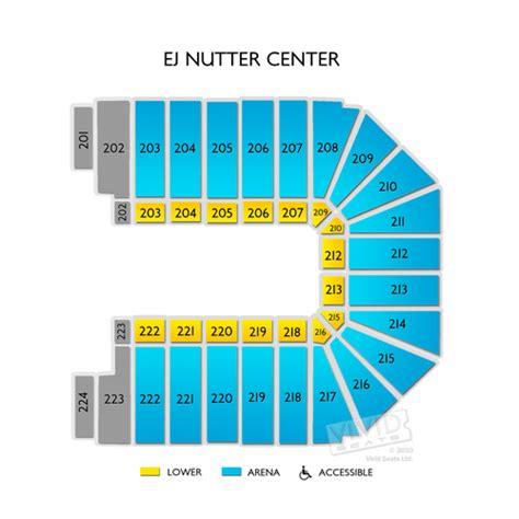 Basketball Arena Floor Plan Nutter Center Tickets Nutter Center Seating Chart