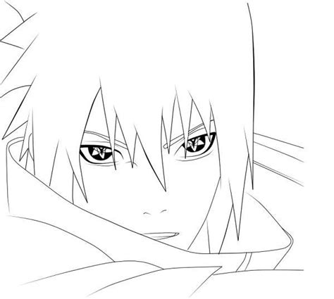 sasuke uchiha coloring pages coloring pages