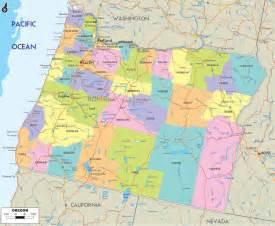 usa oregon map oregon counties road map usa