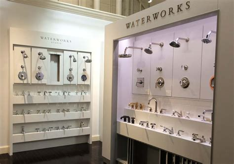 bathroom showrooms bedford the new waterworks display in edelman s bedford heights showroom so many unique