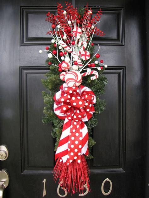 Swag Wreaths Front Door Wreath And White Front Door Swag Wreath
