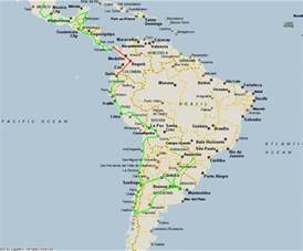 map of mexico central america and south america