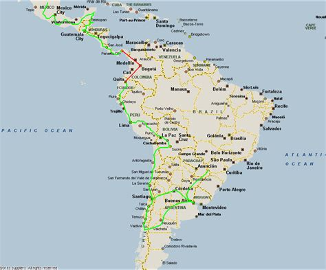 south america map and mexico map of mexico central america and south america