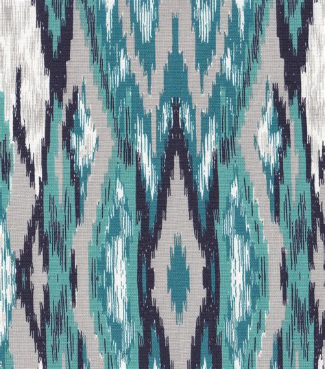 home decor material southwest fabric turquoise black gray home decor