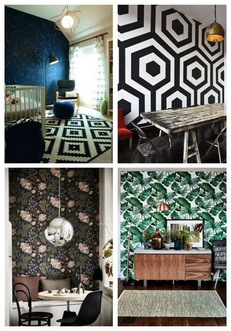 wallpaper for main wall 41 wallpaper statement walls that wow comfydwelling com
