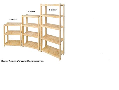 Wide Bookshelf by Solid Wood Bookshelf Size Quot Wide Quot 25 5 Inch Width