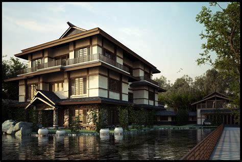 Japanese Style Architecture | designing a japanese style house home garden healthy