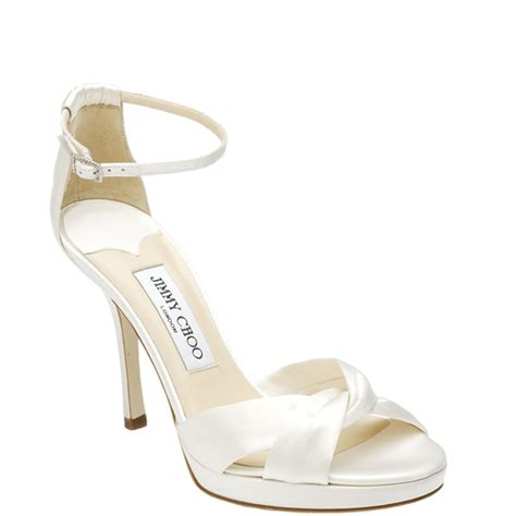 jimmy choo wedding shoes jimmy choo ivory wedding shoes collections wedwebtalks