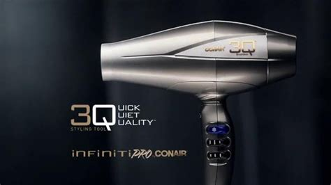 Conair Hair Dryer Commercial by Conair Infiniti Pro 3q Styling Tool Tv Commercial