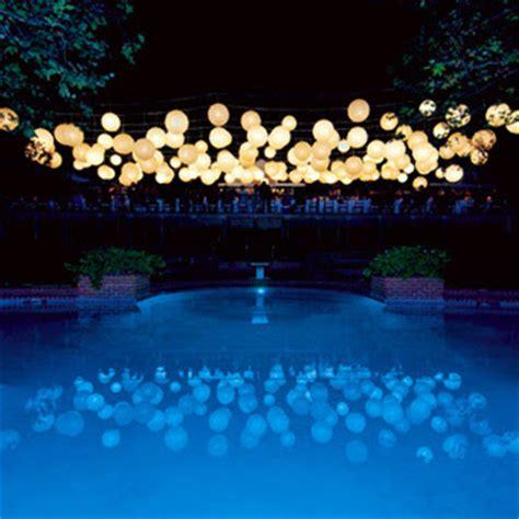 backyard paper lanterns the ultimate celebration wedding florals