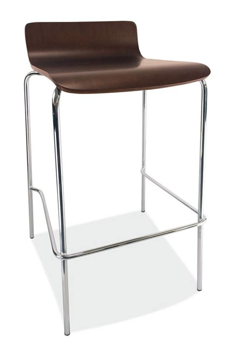 Cafe Stools by Bleecker Series Caf 233 Height Low Back Wood Stool
