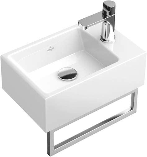 waschtisch memento memento handwaschbecken eckig 533341 villeroy boch