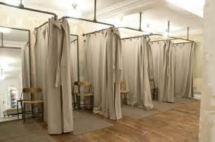 Dressing Room Curtains Designs Rag Bone Dressing Room Area Www Instorevoyage In Store Marketing Visual Merchandising