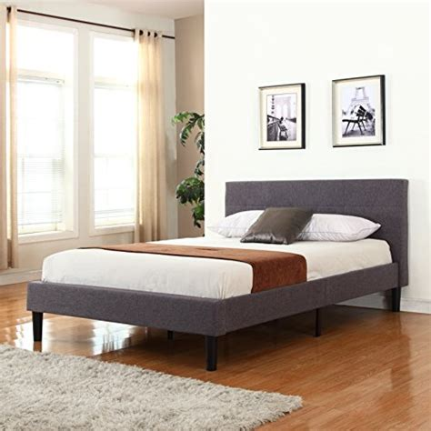 bed frame with wooden slats deluxe tufted grey platform bed frame with wooden slats