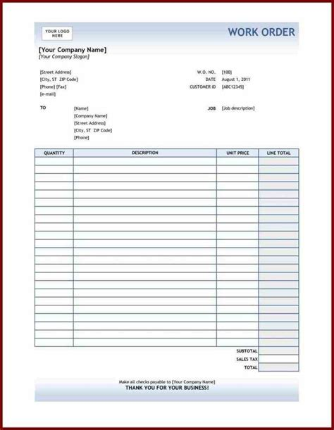 free printable order form templates sales order forms templates free sle templatex1234