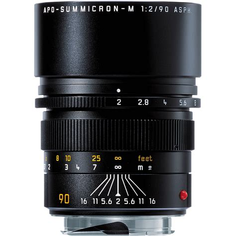 leica lenses leica apo summicron m 90mm f 2 asph lens 11884 b h photo