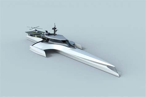 trimaran ocean crossing the ultimate explorer yacht has arrvied nigel irens design