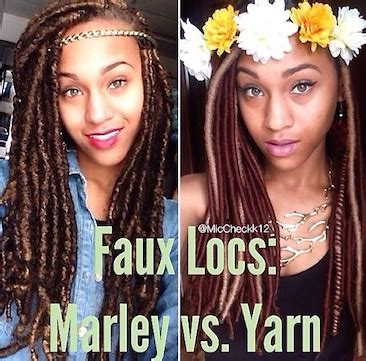 marley v. yarn faux locs: which is best
