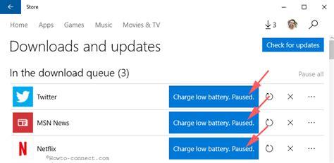 App Won T Resume Fix Store App Paused In Queue Won T Resume Update In Windows 10