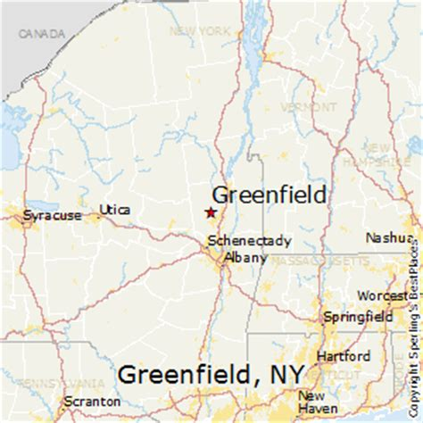 best places to live in greenfield, new york