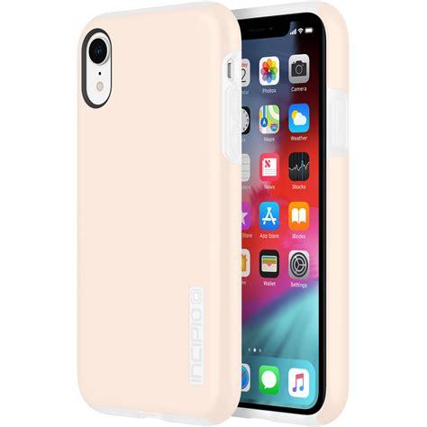 incipio dualpro case  iphone xr rose blush iph