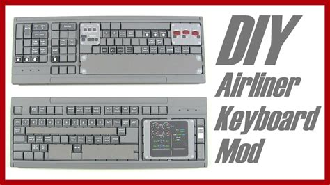 fsx keyboard template diy airliner switch panel keyboard modification 737 plane