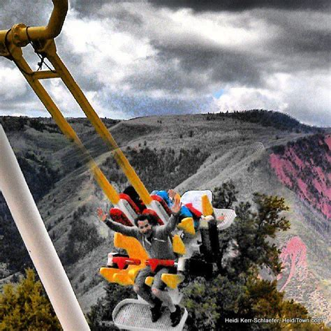 glenwood caverns adventure park swing escape to glenwood springs colorado heiditown
