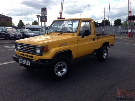 land cruiser pickup 1995 toyota land cruiser j75 pick up